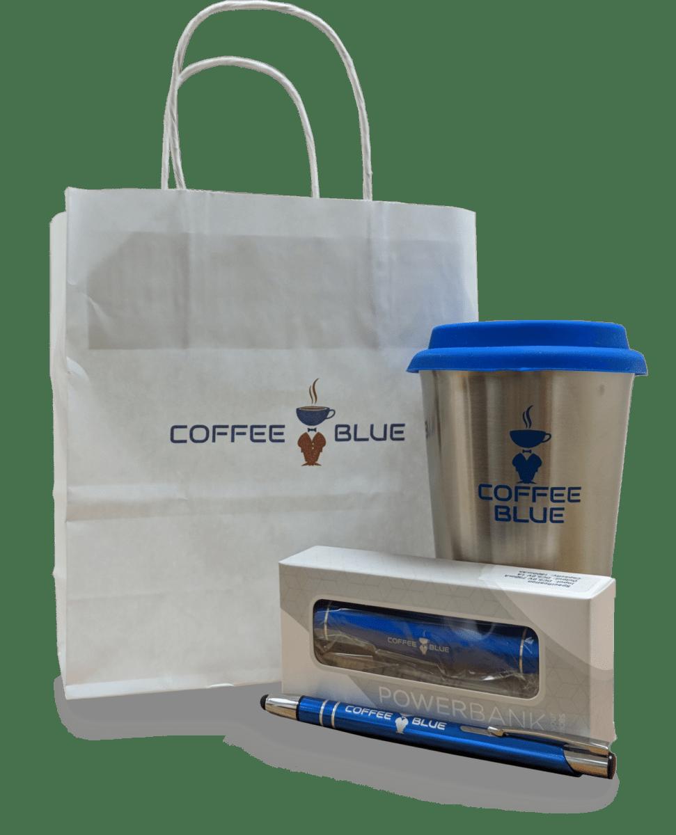 Coffee Blue Merchandise