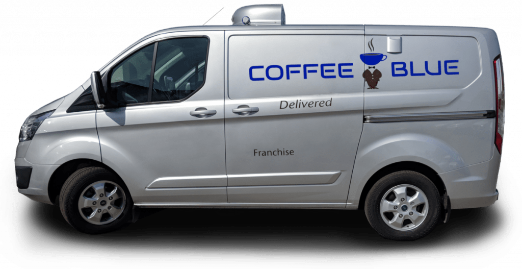 Coffee Blue Franchise Van