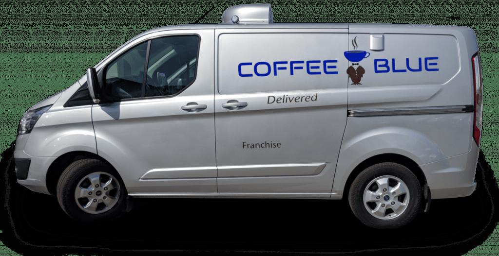 Coffee Blue Franchise Van