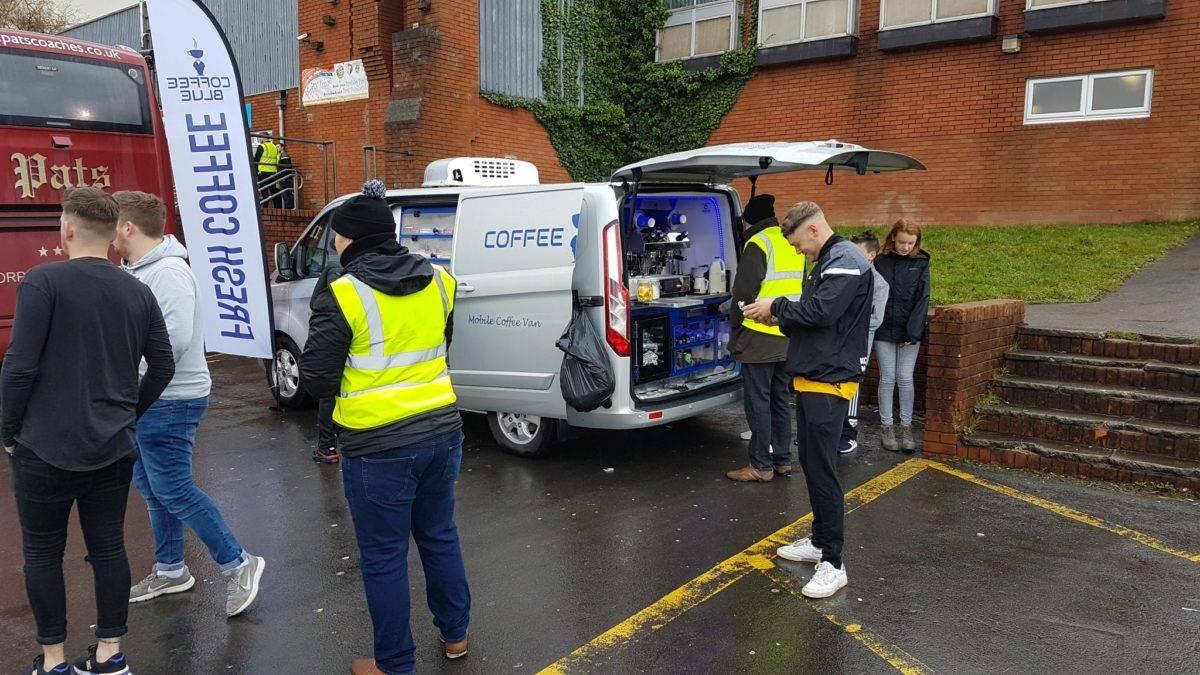 Coffee Blue at Ynysddu Welfare vs Cefn Druids